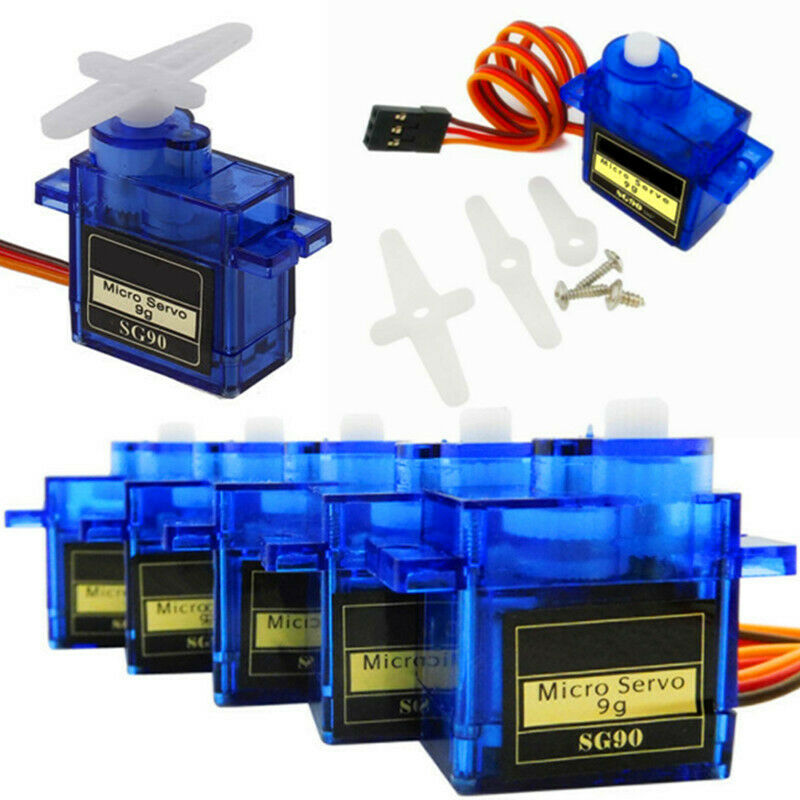 10/20X SG90 9G Micro Servo Motor Gear for RC Robot Helicopter Car Boat Model