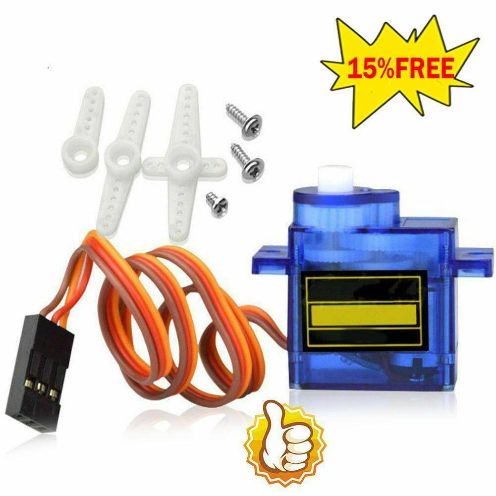 9G Micro Servo Motor RC Robot Helicopter Airplane Remote Control Car Boat T7V9